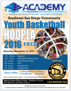 Academy BB Hoopla Tourn Flyer2 jpeg wo SDUSD